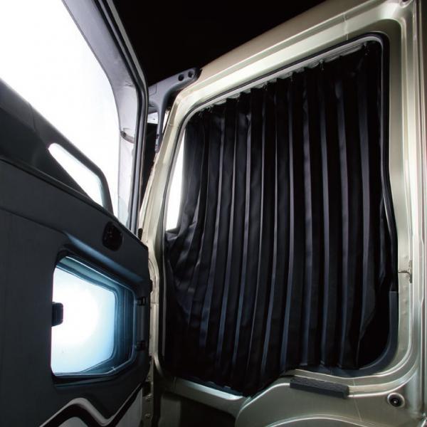 トラック車種別仮眠カーテン いすゞギガ・07フォワード用 雅
